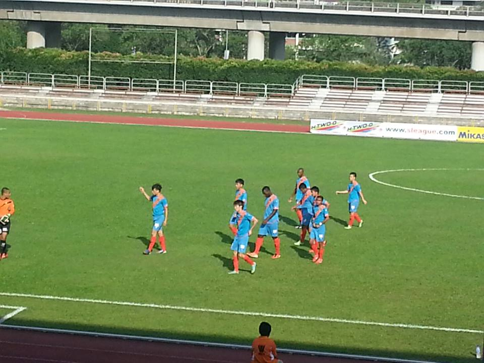 Prime League: Woodlands Wellington 1-5 Hougang United