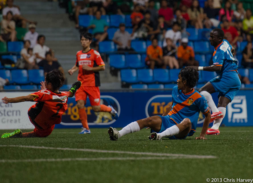 Spirited Swans defeated Hougang