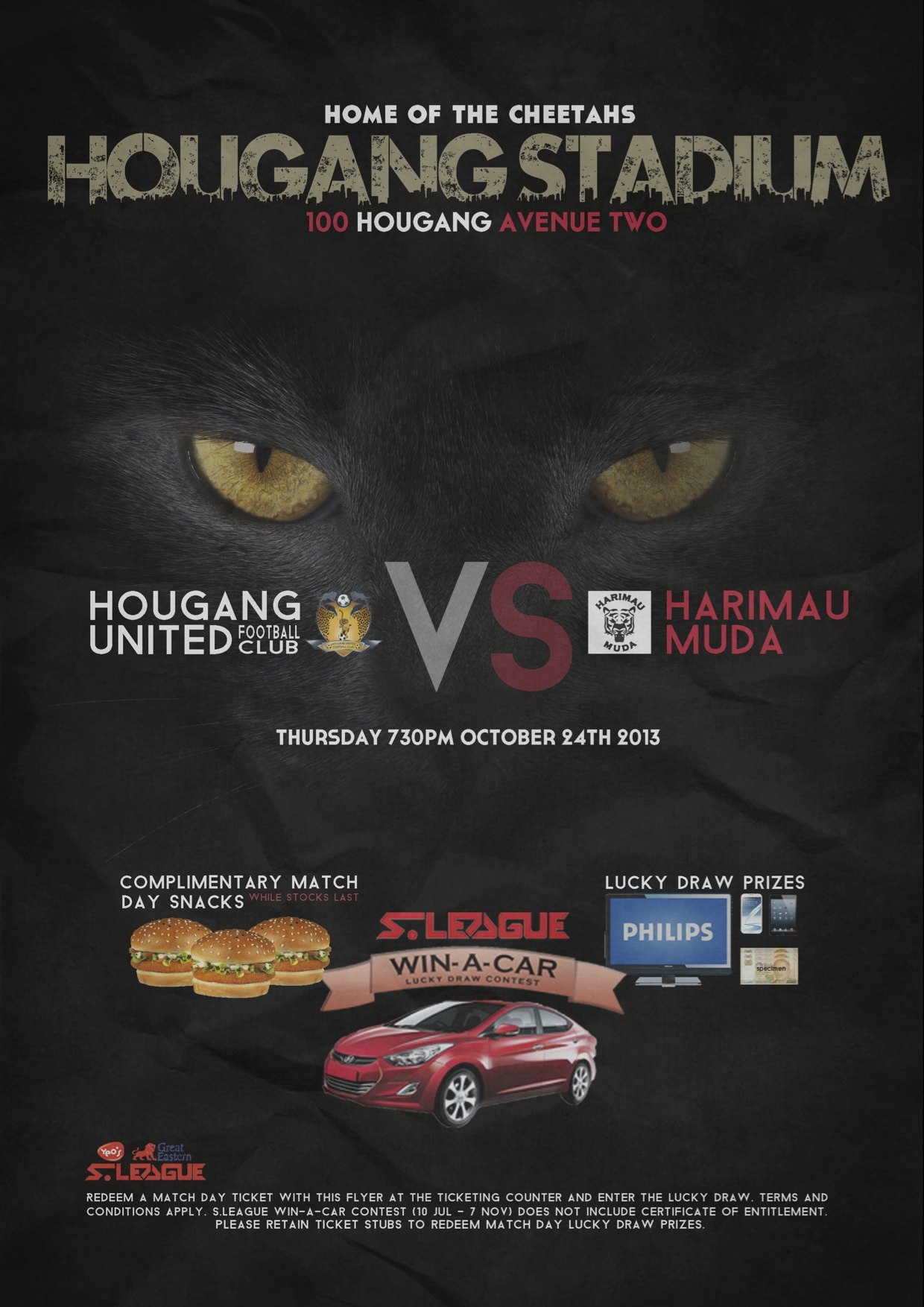 Match Preview: Hougang United vs Harimau Muda