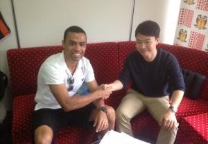 Geison signing