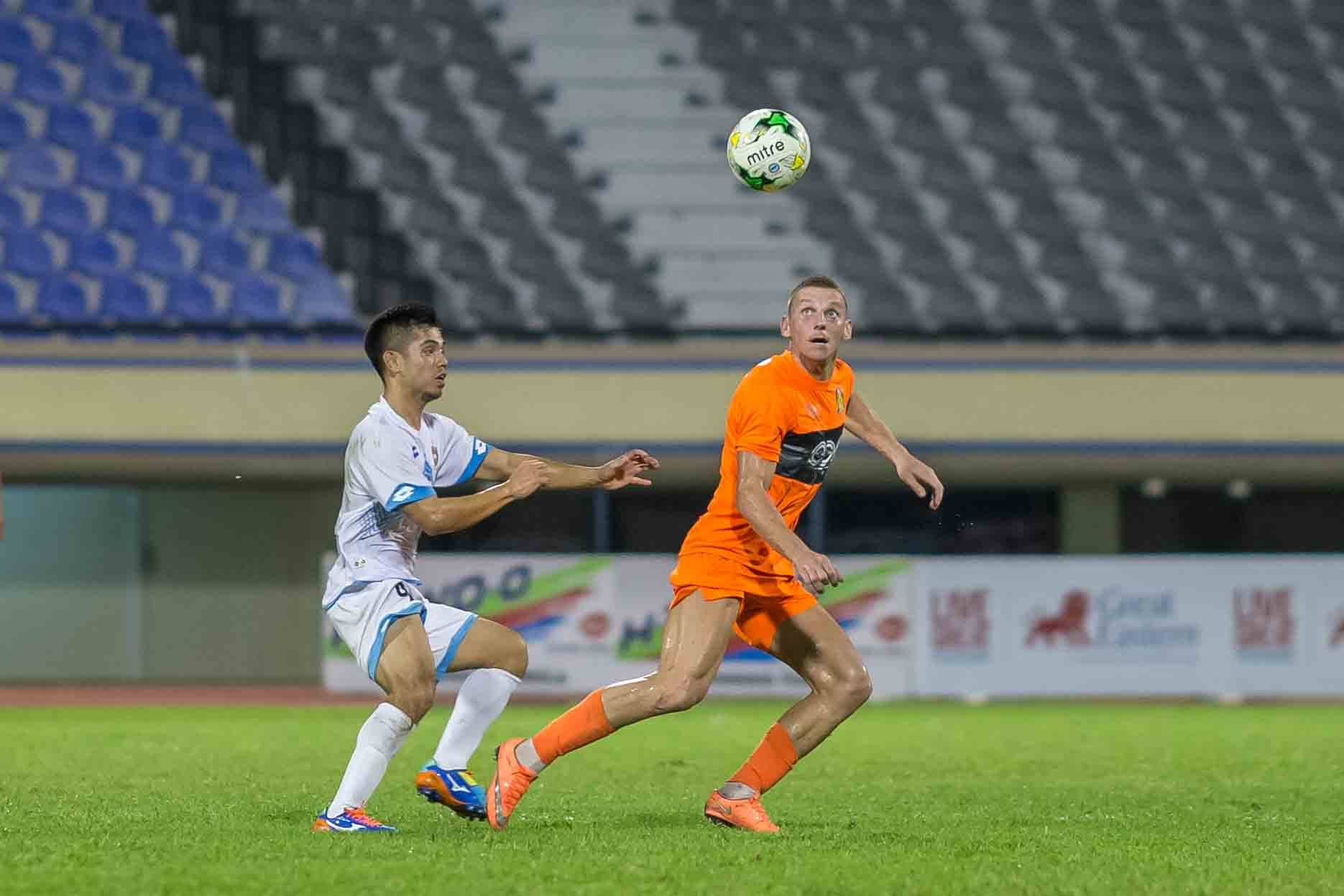 Jozef Kaplan scored his 1st goal for the Cheetahs against DPMM.